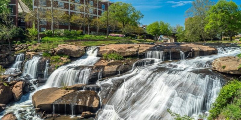 Reedy River Greenville sc