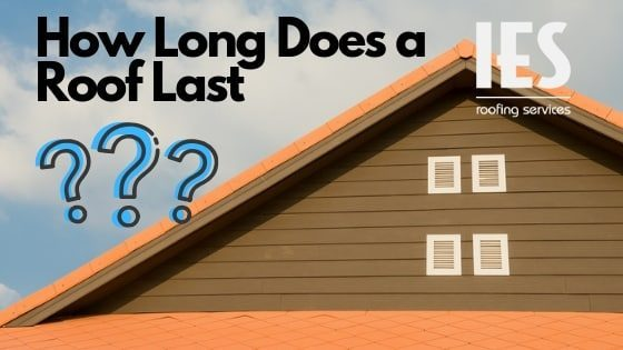 How long does a roof last? Depends on the type of roof and material.